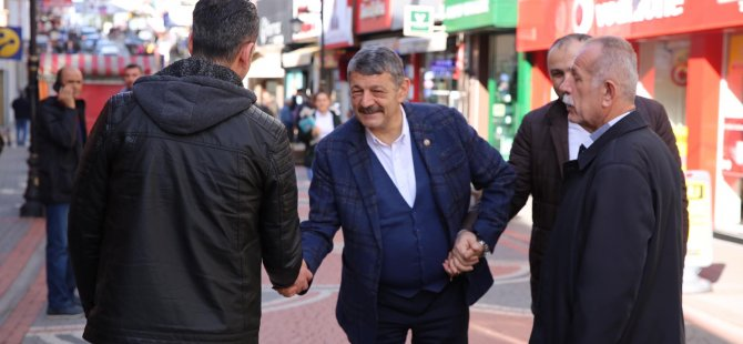 Başkan Akın, Hükümet Caddesi'nde