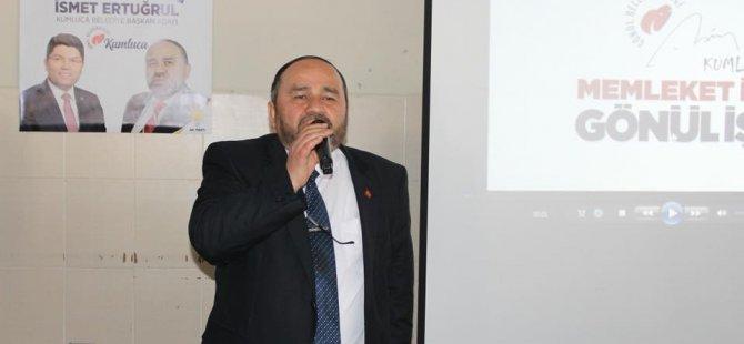 Başkan Adayı Ertuğrul, projelerini açıkladı