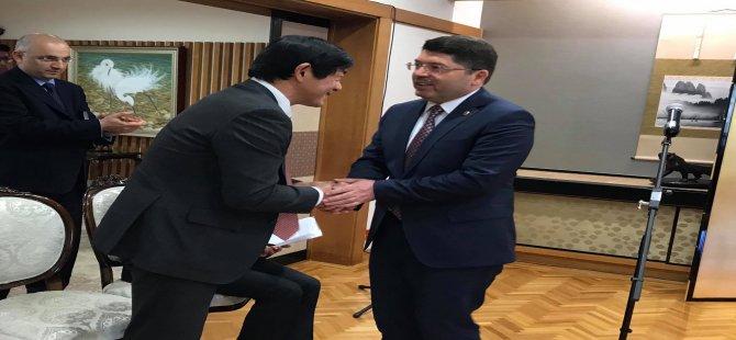 Milletvekili Tunç, Japonya Resmi Kalkınma Yardımı (Oda) Hibe Programı İmza Törenine Katıldı