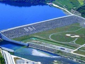 Kirazlı Köprü Barajı'nın % 40'ı bitti