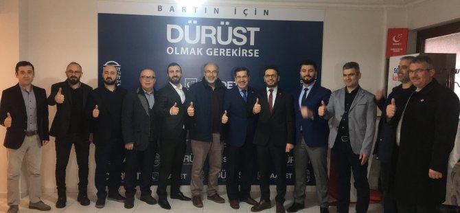 Saadet Partisi Bartın Belediye Başkan Adayını Tanıttı