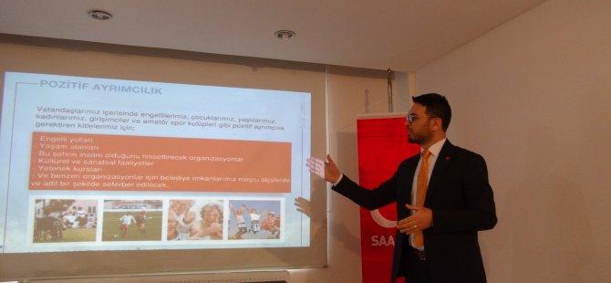 Saadet Başkan Adayı Titiz, projelerini tanıttı