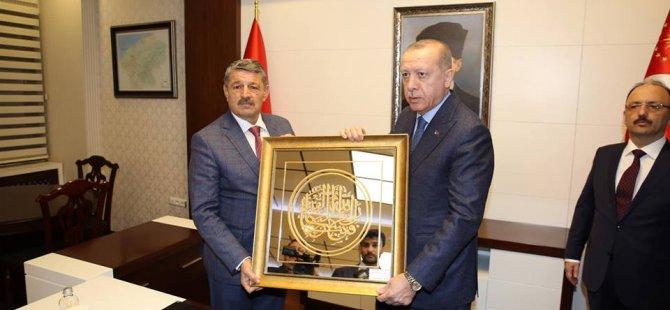 Cumhurbaşkanı Erdoğan, Bartın Valiliği'ni ziyaret etti