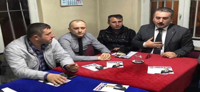 Meclis Üyesi Adayı Eyüpustaoğlu'na köylerden büyük destek