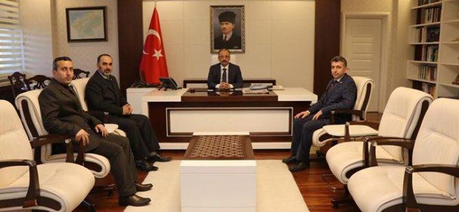 Yeniden Refah Partisi ilk ziyaretini Vali Güner'e gerçekleştirdi