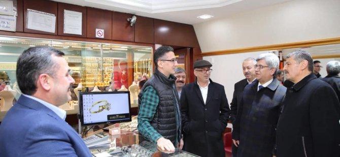 Milletvekili Aycan, Bartın esnafını ziyaret etti