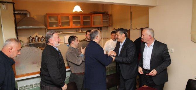 Başkan akın, site ziyaretlerine Orduyeri'nde devam etti