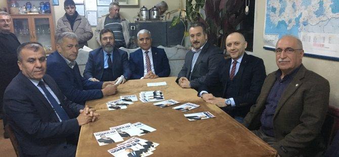 AK Parti Meclis Üyesi Adayları Küçükkızılkum'dan destek istedi