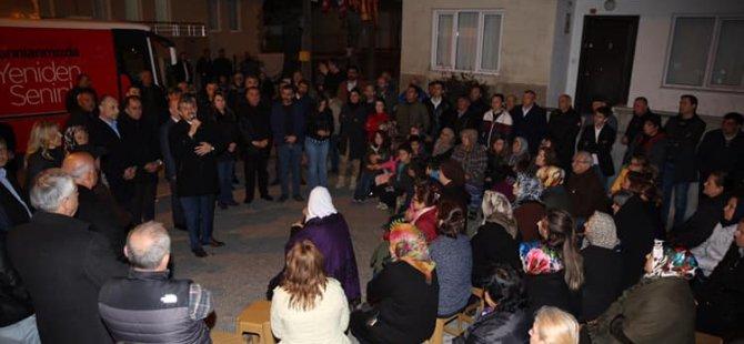 Başkan Akın, Sakızlı Sokak'ta projelerini anlattı