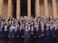 Başkan Çakır, Genel Merkez ve Anıtkabir'de