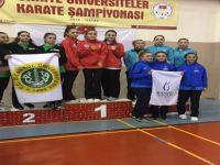 Bartın Üniversitesi'nin Karatede Büyük Başarısı