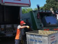 Konteynerlerde temizlik çalışması