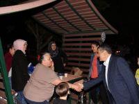 Başkan Akın, piknik alanında iftar yapan vatandaşlarla sohbet etti