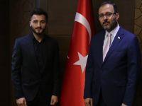 Hükümetten Enver Cenk Şahin'e destek