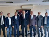 Bartın TSO'dan İl Emniyet Müdürü Bozkuş'a hayırlı olsun ziyareti