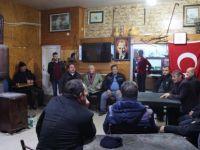 Başkan Akın, köy sakinleri ile çay içip sohbet etti