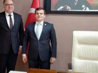 Kaymakam Alkal, Kumluca Belediyesi'ni ziyaret etti