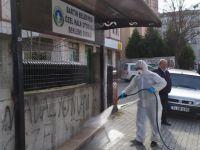 Bartın Belediyesi yeni koronavirüs önlemlerini sıklaştırdı
