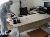 Ulus ve Kurucaşile yerleşkeleri dezenfekte edildi