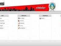 E-Belediye ile online hizmet