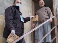 Mahallelerde sağlık seti dağıtımı sürüyor