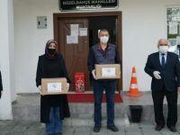 Maskeler muhtarlıklar aracılığı ile vatandaşlara dağıtılacak