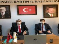 Erdoğan, video konferans yoluyla İl Başkanlarına hitap etti