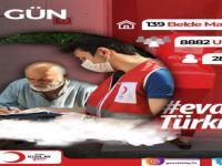 Kızılay, Bartın'da 8 bin 882 kişiye yardım eli uzattı