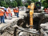 Yağmur suyu drenaj problemi sona eriyor