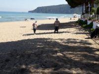 Sahil ve piknik alanı temizlendi