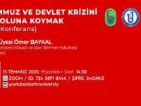 """""""15 Temmuz ve Devlet Krizini Hal Yoluna Koymak"""""""
