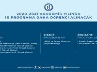 Bartın Üniversitesi'nde 10 programa daha öğrenci alınacak