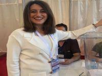 Milletvekili Bankoğlu, kurultayda beyannameyi okudu