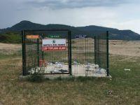 Sahildeki çöp toplama alanı kaldırıldı