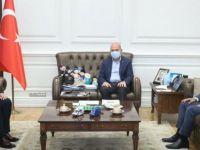 Vali Güner, sorunların çözümü için Bakan Soylu'dan destek istedi