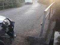 Köprü korkuluğu 6 kişinin hayatını kurtardı