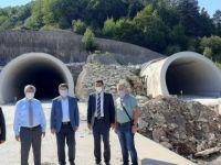 Kurucaşile yolu kış gelmeden Karaman'a kadar ulaşıma açılacak