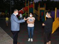 Akın, Vefa Park'ta Vatandaşlarla Sohbet Etti
