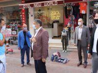 Akın, Amasra'da Esnaf Ziyaretlerinde Bulundu