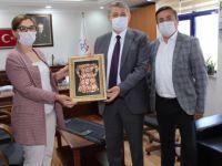 Başkan Akın'dan İl Müdürü Koçoğlu'na Ziyaret