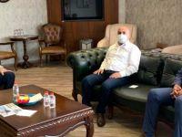 Başkan Akın, Belde Belediye Başkanlarını Ağırladı