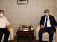 Genel Sekreter Çetin'den Başkan Akın'a Ziyaret