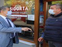 Başkan Akın'dan Çil'e Hayırlı Olsun Ziyareti