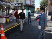 Başkan Akın, Caddede Yapılan Çalışmaları Anlattı