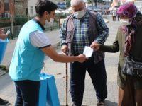 Saadet Partisi Bartın Gençlik Kolları Maske Dağıttı