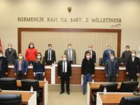 Türkiye Kamusen'den Başkan Akın'a Hayırlı Olsun Ziyareti