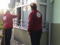 Kızılay'dan sokağa çıkamayanlara gıda yardımı