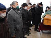 Başkan Muhtar Seyhan'ın Cenaze Törenine Katıldı