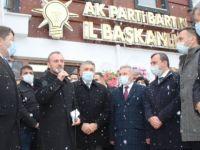 İl Başkanlığı'na resmi açılış töreni yapıldı