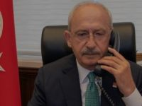Kılıçdaroğlu, telefonla arayarak başsağlığı diledi